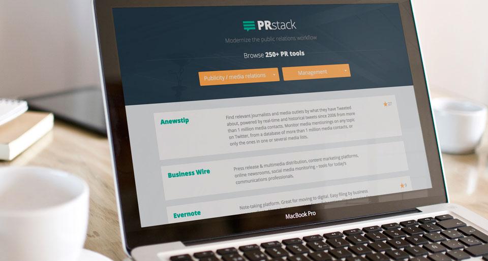 PRstack PR tool filter