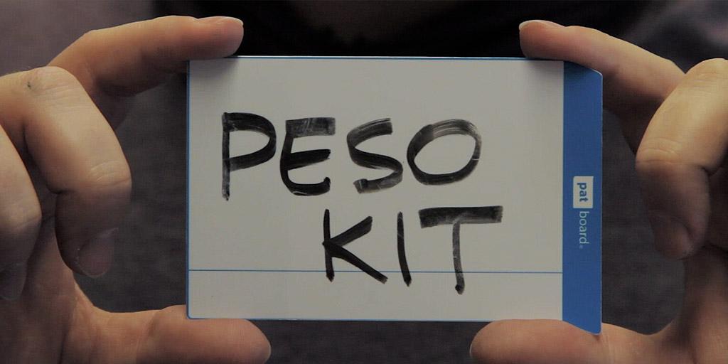 PESO kit card
